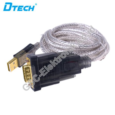 DTECH HDMI CONVERTER USB V2.0 TO SERIAL DB9 CONVERTER CABLE DT-5002A 1 dt_5002a_1