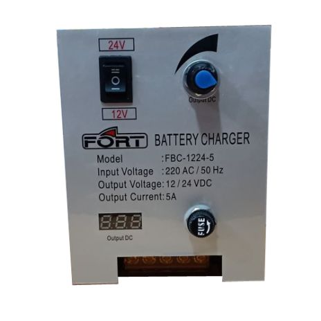 BATTERY CHARGER FORT BATTERY CHARGER FBC-1224-5 / 5 A 1 fbc_1224_5