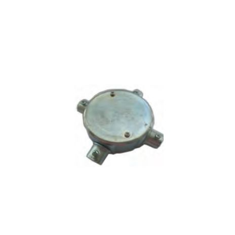 ACCESSORIES FOR STEEL PIPE CONDUIT FORT CIRCULAR JUNCTION BOX 1 WAY FOR TYPE E JBE401-405 1 jbe401_405