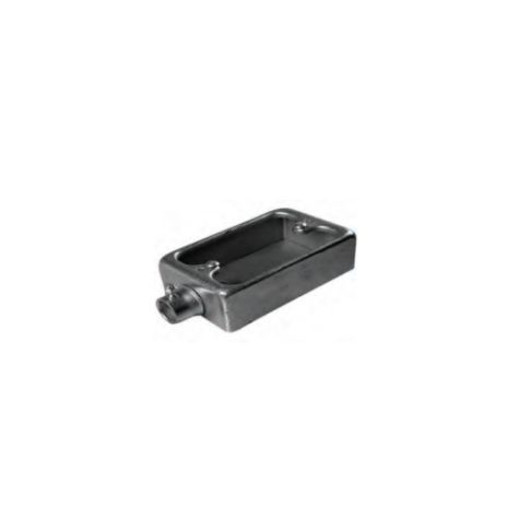 ACCESSORIES FOR STEEL PIPE CONDUIT FORT SURFACE SWITCH BOX FOR PIPE TYPE E SSBS191/251/192/252 1 ssbs_191_252